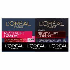 L'oreal Paris Revitalift Laser Day + Night Anti-Aging Cream 50 ml X2 Promo Pack