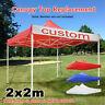 2x2m Wasserdicht Outdoor Party Zelt Gartenzelt Pavillon Zelt Baldachin Pavillon