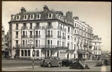 Queens Hotel, Kings Road, Brighton. 1950s Plain Back RP Postcard. Free Post