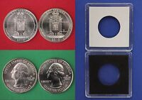 2010 D P Hot Springs Quarters With 2x2 Cases From Mint Sets Flat Rate Shipping