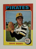 1975 Dave Giusti # 53 Topps Baseball Card Pittsburgh Pirates