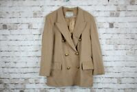 Jaeger Pure New Wool Double Breasted Jacket size Uk 14 No.F234 28/2