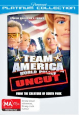 TEAM AMERICA - World Police Uncut DVD BRAND NEW R4