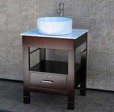 "24"" Bathroom Vanity 24-inch Cabinet WhiteTop Sink Faucet Cg/7044"