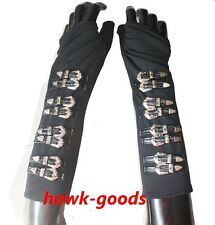 MJ Costume Michael Jackson BAD Dirty Tour Black Arm braces High-quality!!