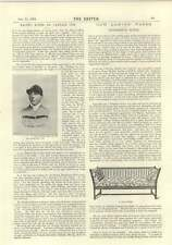 1894 Mr Harding Cox Jockey Owner Useful Pieces Of Furniture