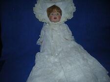 "Kenneth Shader porcelain doll - HEATHER #US10 - 12"" w/COA; 1982"