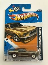 Hot Wheels 2012 SUPER Treasure Hunt '67 Ford Mustang Coupe Protecto