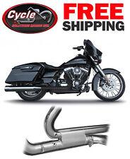 RCX310B Black RC Components Tormentor Headers 2017 Harley Touring Model