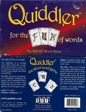 Quiddler The Short Word Game 1998 Set Enterprises 1-8 Players Counted Complete
