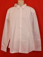 NWT GUCCI WHITE POPELINE PIECE COTTON SKINNY DRESS 307635  SHIRT 17.5 44 ITALY