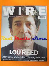 rivista WIRE 228/2003 Lou Reed Alan Silva Spring Heel Jack H. Lachenmann * No cd