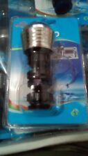 Economizador Grifo Boquilla filtro de agua ahorro Aireador Difusor Negro