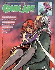Rivista COMIC ART ANNO 1989 NUMERO 54 CANOSSA - MATTIOLI - SESAR - RISSO