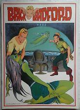 BRICK BRADFORD tavole domenicali a colori collana gertie daily 48 comic art 1978