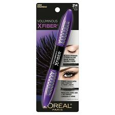 LOREAL Voluminous X-Fiber Superstar Mascara with primer Black 214 NEW
