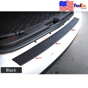 90CM Black Strip Car Rear Bumper Cover Protector Trunk Sill Scuff Plate Guard US