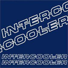 Intercooler Decals / stickers - Scania