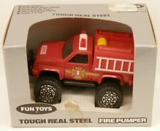 Remco Fun Toys Pickup Fire Pumper 4x4 Style Truck Tough Real Steel in Box