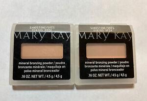 Mary Kay Sandstone Mineral Bronzing Powder LOT of 2