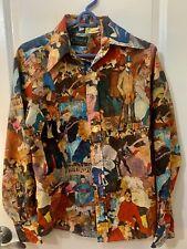 Chemise Et Sie French Artist Shirt! Vintage And Rare!