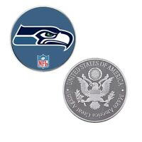 Christmas Souvenir Gifts Us Football Nfl Logos Coin Collection Challenge Coins