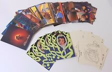 mix 90 Beauty and the Beast Movie Paper Trading Cards 1992 Pro Set Walt Disney