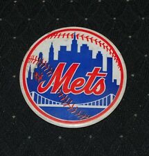 "1970's/80's New York Mets 3.5"" Original Baseball Pin"