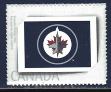 2011 Canada SC# PP7 Picture Postage - Winnipeg Jets, Primary Logo-1 stamp M-NH