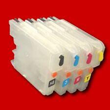Recharge remplir Cartouches CISS pour Brother LC1220 LC1240 LC1280 / pas un OEM
