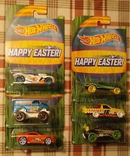 2015 Hot Wheels Lot Of 6 Easter Walmart Exclusive Complete Set Free Shipping