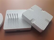 2pcs Dental Lab Honeycomb Square Firing Trays with 20 Zirconia Pins