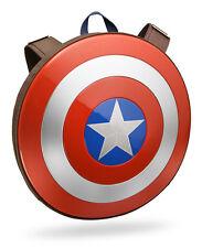 Marvel Captain America Hard Plastic Shield Backpack