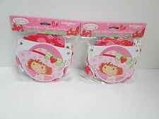 STRAWBERRY SHORTCAKE HAPPY BIRTHDAY BANNER- LOT OF 2 BANNERS - PARTY SUPPLIES