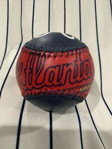 Spinneybeck Leather Baseball Atlanta Braves 1994 Souvenir Collectible Ball