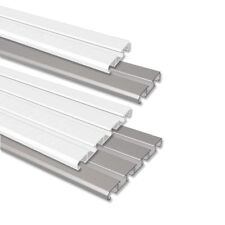 INTERDECO Vorhangschienen / Deckenschienen Aluminium 1-/2-läufig und 3-/4-läufig