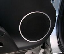 Nissan Fairlady 350Z Z33 V6 alu ring for loudspeeker door alluminio