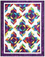 Lotus Blossom Quilt pattern - Cozy Quilt Designs