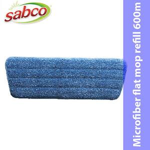 SABCO swish pro  Microfiber flat mop refill 600m blue  *Aust Brand