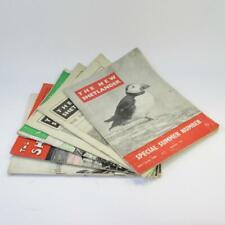 The New Shetlander Magazine, 6 Issues (1948-1949) Vintage Scottish Paperbacks