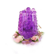 20g Wedding Party Crystal Water Beads Table Centrepiece Vase Decoration LED Purple 1