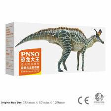 Pnso Lambeosaurus Figur hadrosauridae Dinosaurier Sammler Tier Dekor Modell