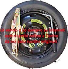 """Ruotino di Scorta ORIGINALE per Ford ECOSPORT 16"""" con cric+chiave"""