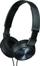 COBY CVH-825-BK Black Stero Coby Headphones W/ Built- In Mic