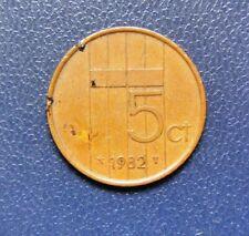 Netherlands 5 Cents 1982 coin - Holland - Dutch
