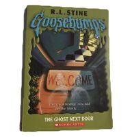 RL Stein Goosebumps Paperback Scholastic Book Vintage The Ghost Next Door