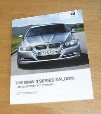 BMW 3 Series E90 BROCHURE 2010 - 318i 320i 325i 318d 320d 325d 330d 335d M Sport