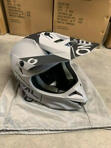 ONEAL Element Series 5 Helmet Poly Hexx Gray SIZE ADULT XS (0628-811)