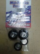Mid America V Series Mickey Thompson Drag Tire Set. 1 3/16 X 500