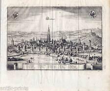 Nördlingen - Kupferstich von Matthäus Merian 1643